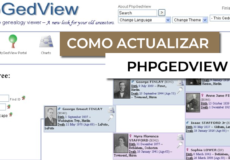 actualizacion howto upgrade phpgedview